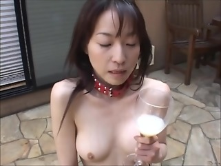 brunette asian bdsm