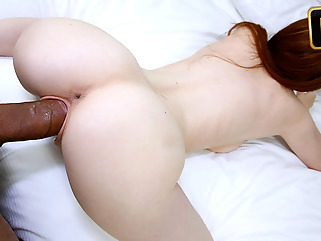 blowjob red head pov
